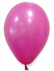 Ballon 24 stk fuchsia 25 cm