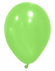 24 grønne balloner 25 cm