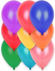 12 balloner bionedbrydelige mange farver 28 cm