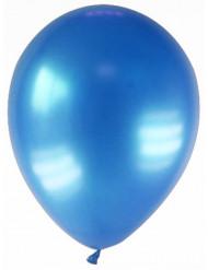 12 metallic mørkeblå balloner 28 cm