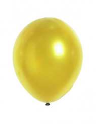 12 balloner guld metal 28 cm