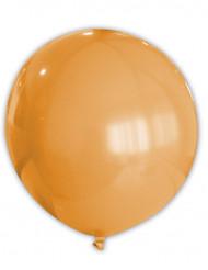 Kæmpeballon orange 80 cm