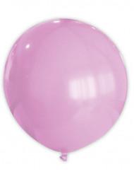 Lyserød ballon 80 cm