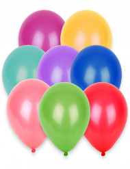 100 balloner 27 cm forskellige farver
