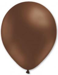 100 Brune balloner 27 cm