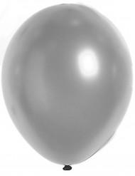 100 balloner sølvmetalliske 27 cm