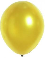 100 guldfarvede balloner 29 cm