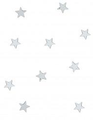 Dekoration 10 mini glas stjerner