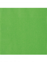 Servietter 20 stk limegrøn 33x33x cm