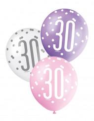 Ballon rosa 30 år