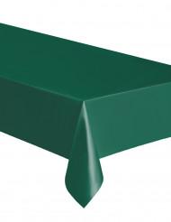 Rektangulær mørkegrøn plastikdug