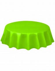 Rund plastikdug limegrøn