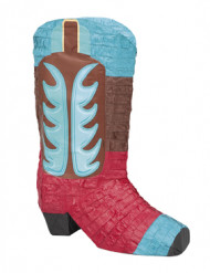 Cowboy støvle piñata 46 x 34 cm