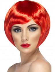 Kabaret Paryk Kort rødt hår