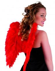 Røde vinger 50 x 50 cm. voksne