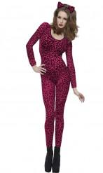 Kostume lyserød leopard
