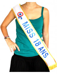 Skulderbånd Miss 18 ans
