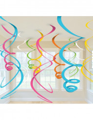 Dekoration ophæng multifarvet