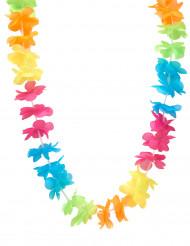 Halskrans Hawaii multifarvet til voksne