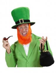 Høj hat med skæg til voksne Saint Patrick