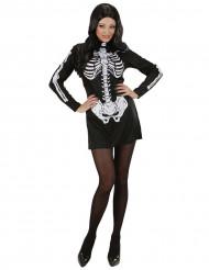 Skeletkjolekostume voksen Halloween