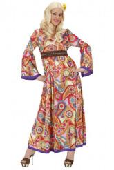 Kostume hippie lang kvinde