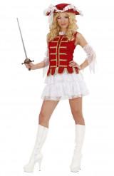 Kostume musketer kvinde