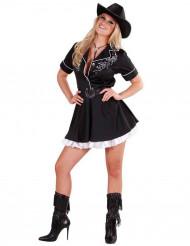Cowgirl udklædning til voksne