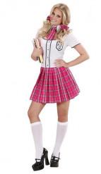 Skolepige-kostume voksen