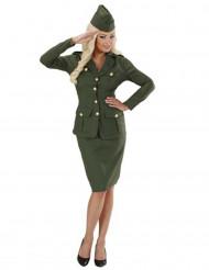 Soldaterdragt kvinde