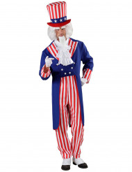 Kostume Onkel Sam til voksne