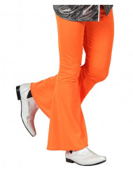 Orange disko-bukser mand