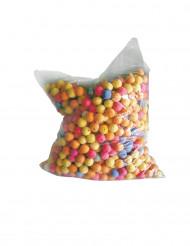 1000 dekorative kugler i forskellige farver til pusterør