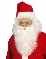 Julemandsparyk med skæg voksne