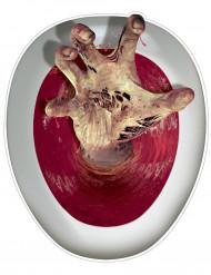 Dekoration klistermærke zombie toilet
