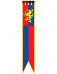 Middelalder banner til at hænge op 180 cm