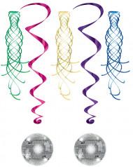 Dekoration spiral med discokugle