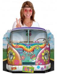 Hippiebus - Festdekoration