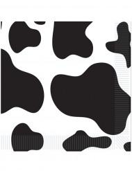 Servietter 16 stk. ko mønster 33x33 cm