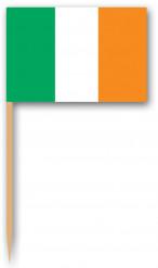 Tandstikkere med det irlandske flag