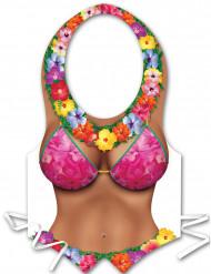 Forklæde plastic til kvinder Hawaii
