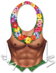 Forklæde plastic til mænd Hawaii