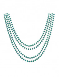 4 grønne halskæder