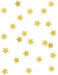 Konfetti guld stjerner