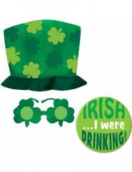 Grønt sæt Saint Patrick