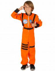 Orange astronautdragt til børn