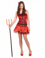 Sexet djævel kvinde kostume