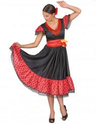 Kostume danserinde flamenco til kvinder