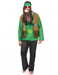 Hippiekostume Grøn Mand