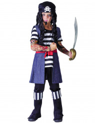 Kostume tatoveret pirat barn